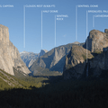 One of the most iconic National Park vistas is the overlook at Tunnel View in Yosemite National Park.- Exploring California's 9 National Parks