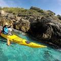 Kayaking the waters of Nerja, Spain.- Woman In The Wild: Bushra Malik
