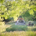 A beautiful secluded campsite at Flycatcher Farms in Dale, Texas. Photo by Shayna Frankenfield via Hipcamp.- Your Guide to Last-Minute Camping