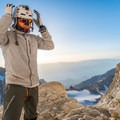 The Mammut El Cap is an adjustable helmet that fits well with a hoodie or beanie underneath it.- Gear review: Mammut El Cap Helmet