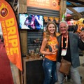 Nothing can stop this father/daughter duo from getting the good Bripe name out there!- Outdoor Retailer Summer Market 2017