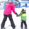 Learning to ski, credit: Visit Idaho- A Family-Friendly Adventure Weekend in McCall, Idaho