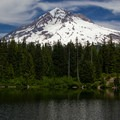 Mount Hood from Burnt Lake.- 5 Lesser Known Hikes On and Around Mount Hood