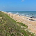 A windy morning at Canaveral National Seashore.- 10 Fantastic Beach Towns in Florida