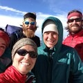 We made it! Standing together at Forester Pass, the highest point along the PCT (13,200 ft).- Solo Hiking the Pacific Crest Trail: The Gifts of Going Alone