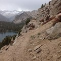 Heading back into the Sierras over Kearsarge Pass after a resupply in Independence, California.- Solo Hiking the Pacific Crest Trail: The Gifts of Going Alone