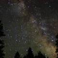 Starry night from Candle Creek Campground.- Camping on the Metolius River