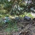 Packing out trash can avoid scenes like this.- Minimize Your Impact with Leave No Trace