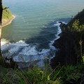 Cliffs along the Cape Lookout Hiking Trail.- Wednesday's Word - Netarts