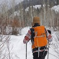 The poles work well in winter and come with powder cages to keep them from going into the snow.- Gear Review: Mountainsmith's Carbonlite Pro Trekking Poles