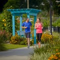 Cascade Park is perfect for a run in the city. Photo courtesy of Visit Tallahassee.- Destination Spotlight: Trails of Tallahassee