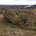 Overlook of the Missouri River in October- Indian Cave State Park