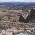 View from the top.- Scottsbluff National Monument