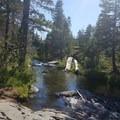 Frazier Creek- Frazier Falls