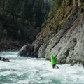 Excitement at Green Wall- Illinois River