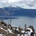 Looking across at Mount Scott.- Crater Lake National Park
