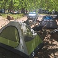 Room to park, room for tents, close to amazing hikes, what more could you ask for?!- South Campground