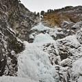 Snoquera Falls in its Frozen State- Snoquera Falls Loop