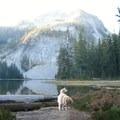 Sawtooth Mountain in the backgrouond- Indigo Lake Campground