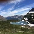 Looking back towards Shangri La lake- Iceberg Lake