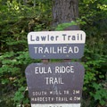 Eula Ridge Trailhead, perhaps renamed the Lawler Trailhead after the recent extension of the Lawler Trail- Eula Ridge Hike