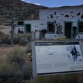 Aguereberry miner's camp existed in operation for over 40 years.- Eureka Mine + Aguereberry Camp