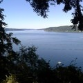 Viewpoint from the trail- Point Defiance Outside Loop Trail