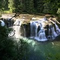 lower falls- Lewis River Falls
