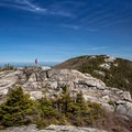 The summit in a distance- Jay Mountain Hike