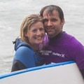 Post first wave joy!!!- Cowell Beach