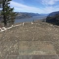 Viewpoint seen from Chanticleer Point Memorial- Portland Women's Forum State Scenic Viewpoint