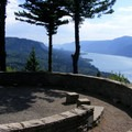 View from Nancy Russell Overlook- Cape Horn Loop Hike