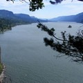 View east- Cape Horn Loop Hike
