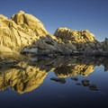 Reflections at Sunrise- Barker Dam Trail