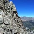 Expect moderate exposure as you climb and down-climb throughout the day- La Plata Peak