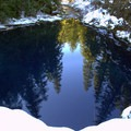 Tamolitch or Blue Pool.- McKenzie River Trail