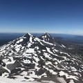 View from South Sister summit. - South Sister Hike