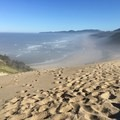 The dunes above Pacific City --Cape Kiwanda--gotta love running down them.- Pacific City