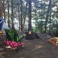 Site 69 in the south loop- Colonial Creek Campground
