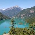 Diablo Lake overlook- Colonial Creek Campground