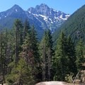 Colonial Peak from the Thunder Knob trail- Colonial Creek Campground
