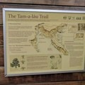 Trailhead information sign- Tam-a-Láu Trail