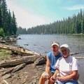 Marie Lake- Diamond Peak, Marie + Rockpile Lakes