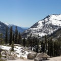 Canyon Creek from the Lower Canyon Creek Lake- Canyon Creek Lakes