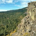 Lewis and Clarkin' it on the Wall!!!- Coyote Wall Hiking Trail