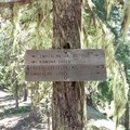 Trail sign- Ramona Falls Hike