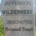 Trail Sign- Three Fingered Jack