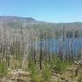 One of the many Lakes- Three Fingered Jack