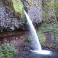 Ponytail Falls where just left of the trail the scramble begins!- Rock of Ages Loop via Horsetail Falls Trailhead