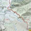 Topo Map detailing today's Hike!!!- Ape Canyon